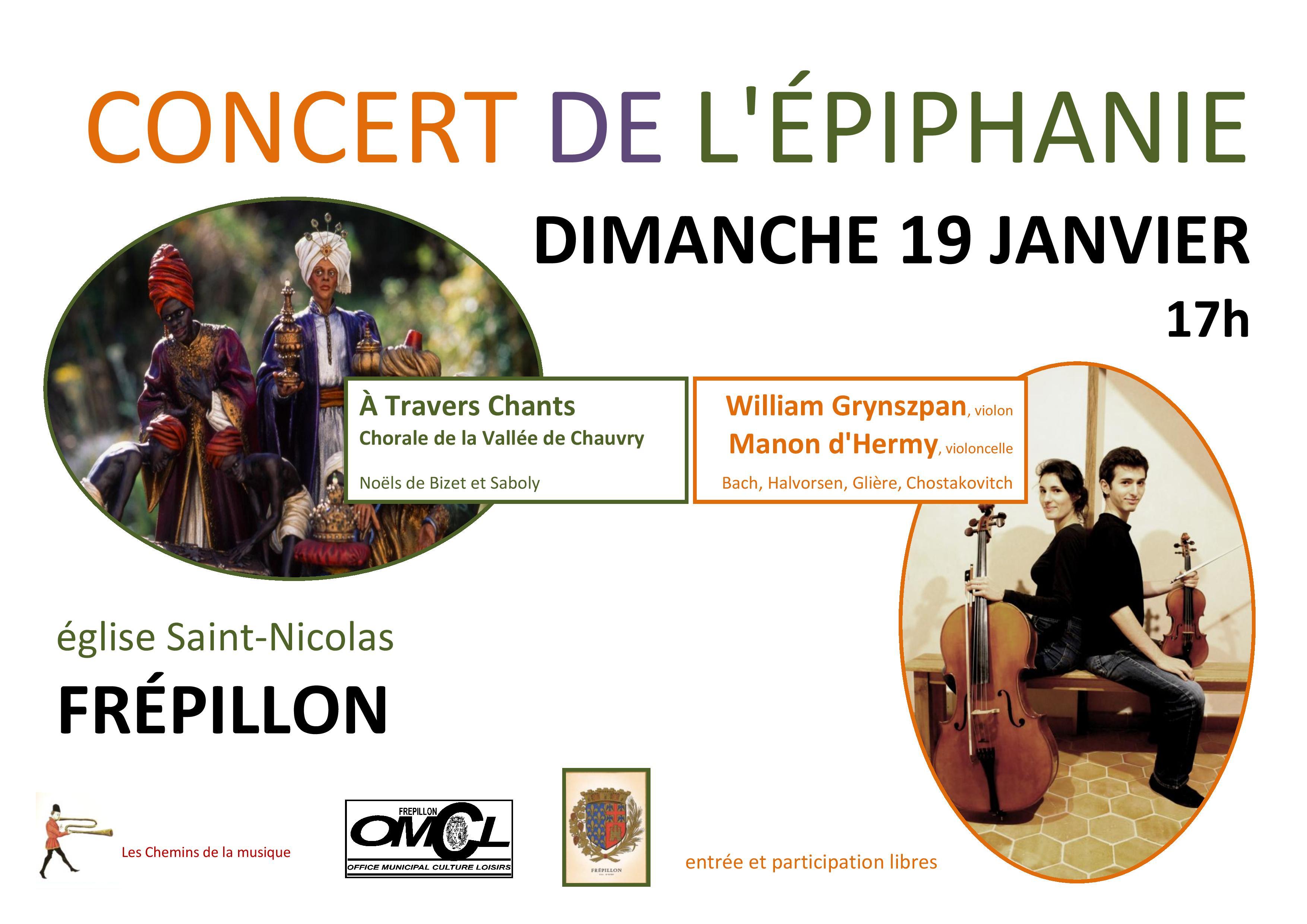 2020-01-19 Concert de l'Epiphanie à Frépillon,