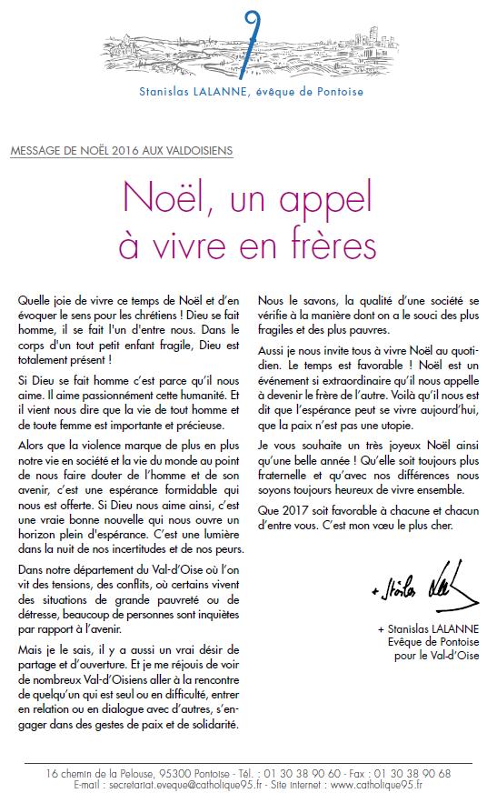message-de-noel